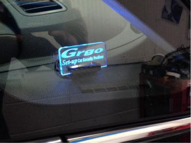 オデッセイのGrgo施工例