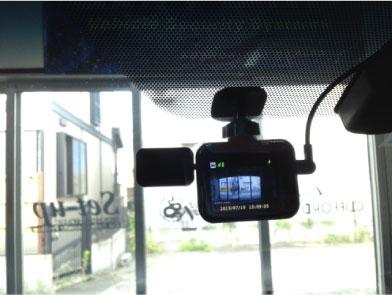 新型ヴェルファイアのドライブレコーダー取り付け例