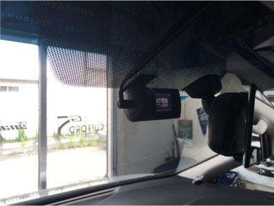 ヴェルファイアのドライブレコーダー取り付け例