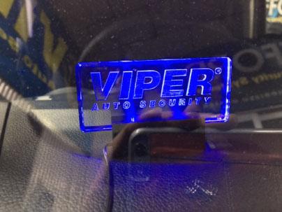 NボックスカスタムのVIPER取り付け例