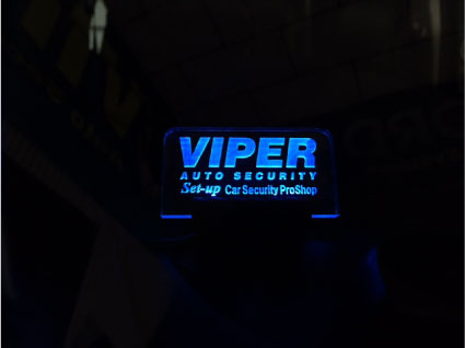 NBOXカスタムのVIPER取り付け例