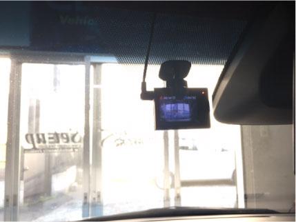 エスティマのドライブレコーダー取り付け例