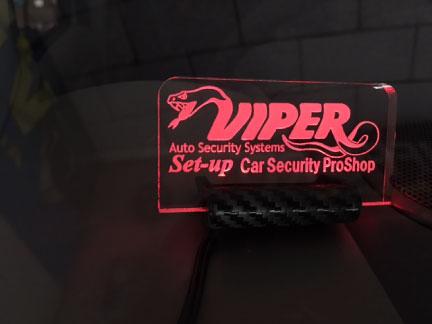 エブリィワゴンのVIPER取り付け例