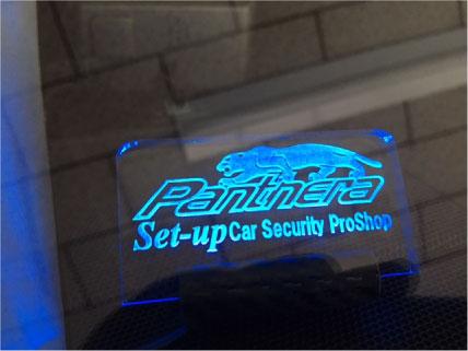 ランドクルーザープラドのPanthera取り付け例