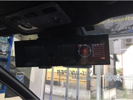 新型VOXYのレーダー探知機取り付け例