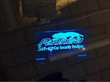 ハリアーGRスポーツのPanthera取り付け例