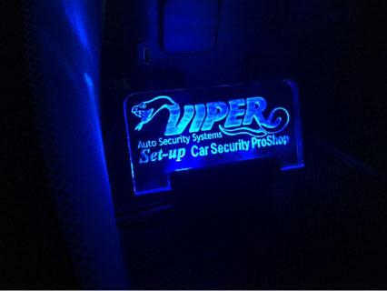 クラウンアスリートのカーセキュリティーVIPER取り付け例