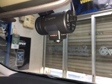 エルグランド(E52)のドライブレコーダー取り付け例