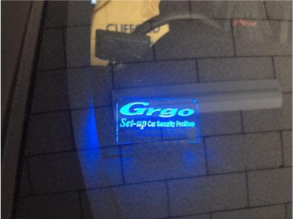 VOXYのリレーアタック対応Grgoの取り付け例