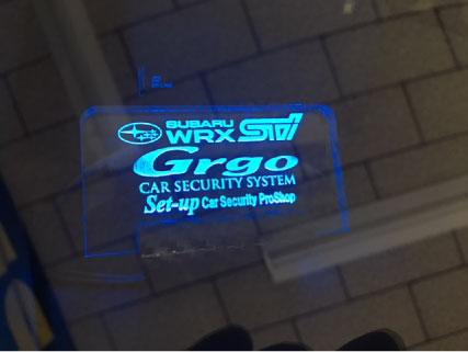 WRX-STIのGrgo取り付け例
