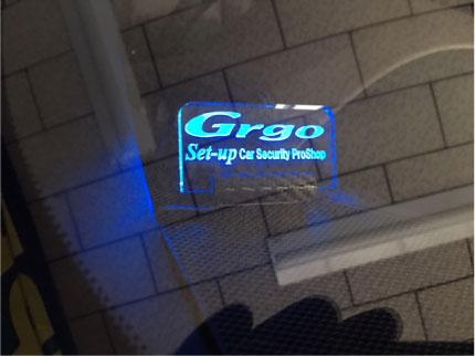 C-HRハイブリッドのGrgo取り付け例