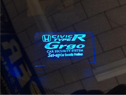 シビックTYPE-RのGrgo取り付け例