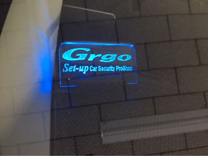 インプレッサのGrgo取り付け例