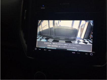 インプレッサのフロントカメラ取り付け例