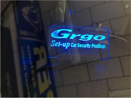 GT-RのGrgo取り付け例
