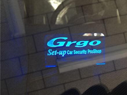 プリウスPHV GR-SPORTにGrgo取り付け例