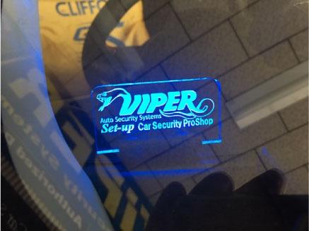 スイフトスポーツのVIPER取り付け例