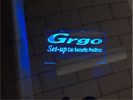 ジェイドのGrgo取り付け例