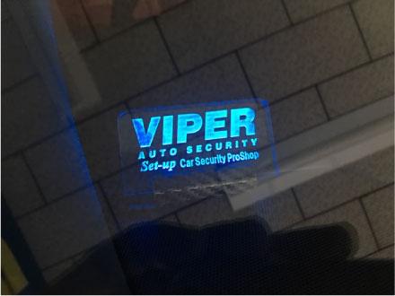 RXのリレーアタック対応VIPER取り付け例