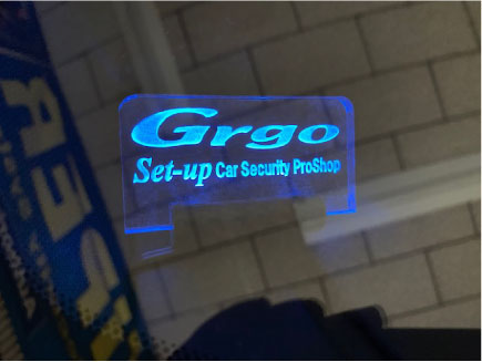 MAZDA3のGrgo取り付け例