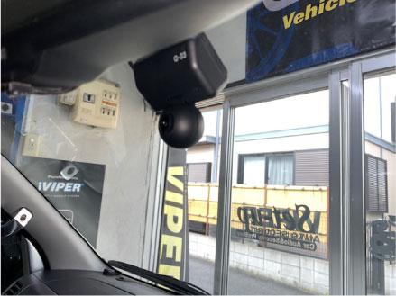 ハイエースのドライブレコーダー取り付け例
