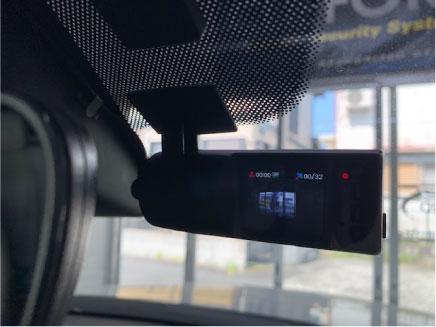 CX-8のドライブレコーダー取り付け例