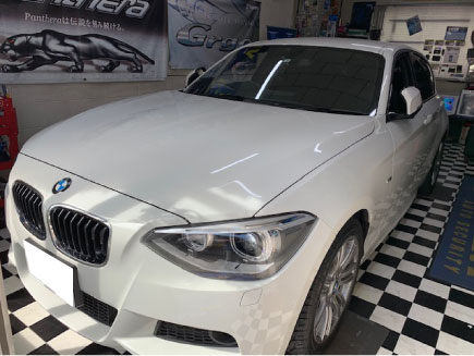BMW116i(F20)のVIPER取り付け例
