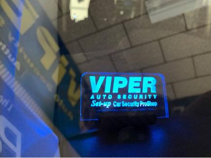 デイズルークスのVIPER取り付け例