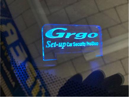 シビックハッチバックのGrgo取り付け例