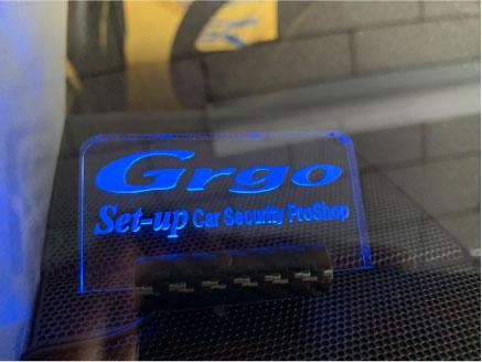 ランドクルーザープラドのGrgo取り付け例