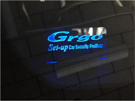 ハリアーGRSPORTのGrgo取り付け例
