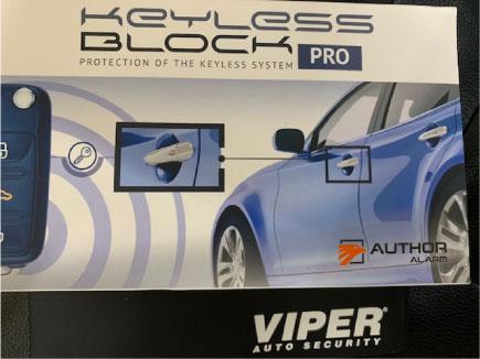 レクサスNXのVIPER&キーレスブロックPRO+取り付け例