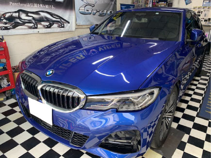 BMW320i(G20)のPanthera取り付け例