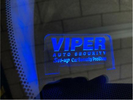ランドクルーザープラドのVIPER&リレーアタックガード取り付け例