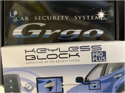 ランドクルーザープラドのGrgo&キーレスブロック取り付け例