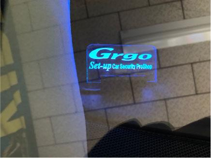 ヴェルファイアのGrgo&キーレスブロック取り付け例