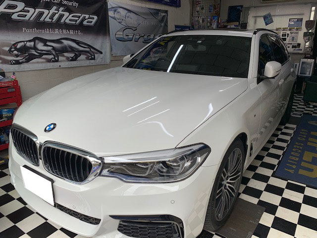 BMW5シリーズのVIPERとLOCK音取り付け例