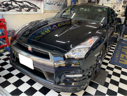 R35GT-RのPanthera取り付け例