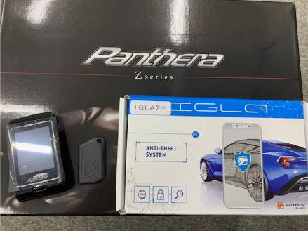 新型ランドクルーザー300のPantheraとIGLA取り付け例