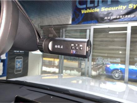 レクサスLXのドライブレコーダー取り付け例