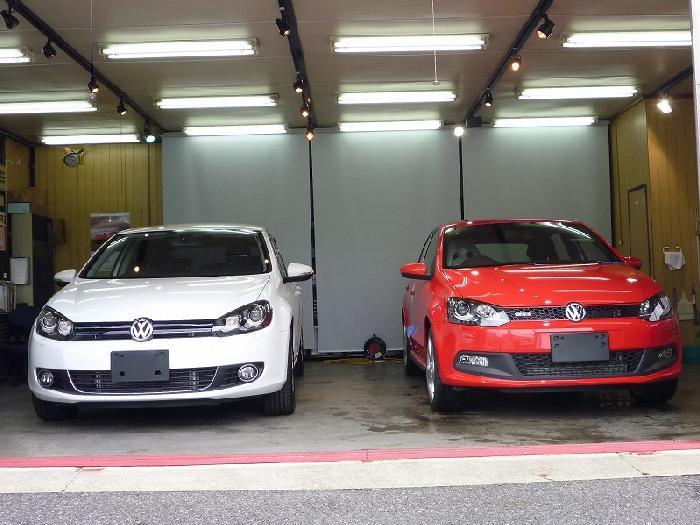 VW ゴルフ�Y VW ポロGTI
