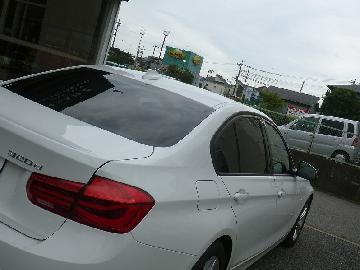 BMW 320d フィルム施工 SC−7020・FGR−500