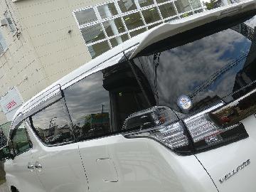ヴェルファイア30系 新車フィルム施工 シルフィード SC−7015