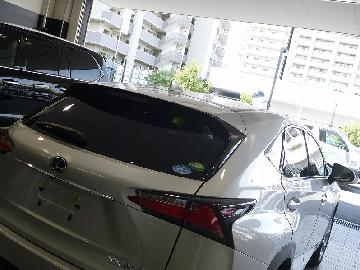 LEXUS NX300h 新車フィルム施工 シルフィード SC−7020