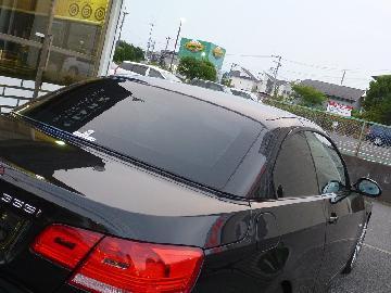 BMW 335iカブリオレ 断熱フィルム施工 SC−7020