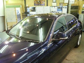 BMW 320d 透明断熱フィルム施工 FGR−500