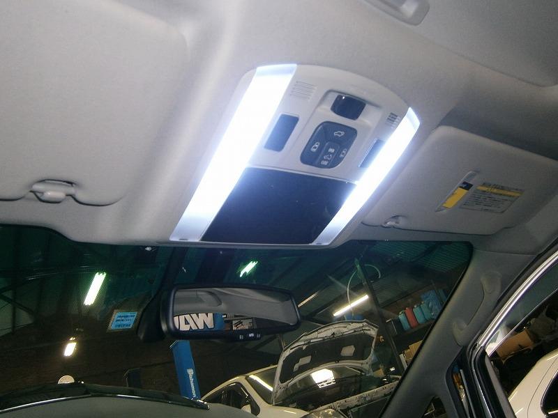 アルファード  ルームランプ・LED交換