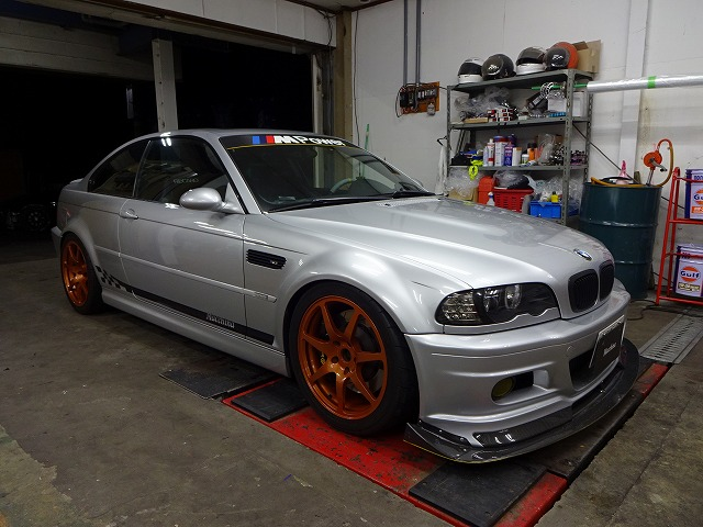 BMW M3 E46 プロテクションフィルム TE37