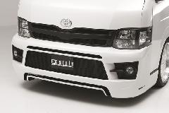 Front Bumper Spoiler(ワイドボディ用)(HIACE 200Type 3型 EX-Style3 Bumper Type ワイド)