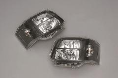 �V型HEAD LIGHT(Super Black)